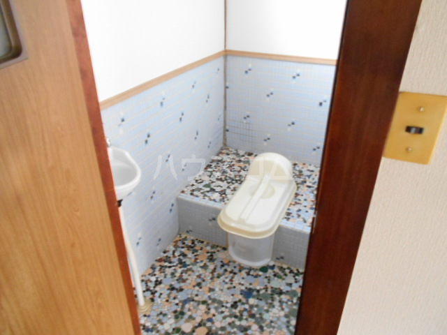 神谷借家 3号室のトイレ