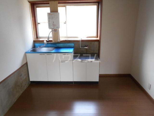 神谷借家 3号室のキッチン