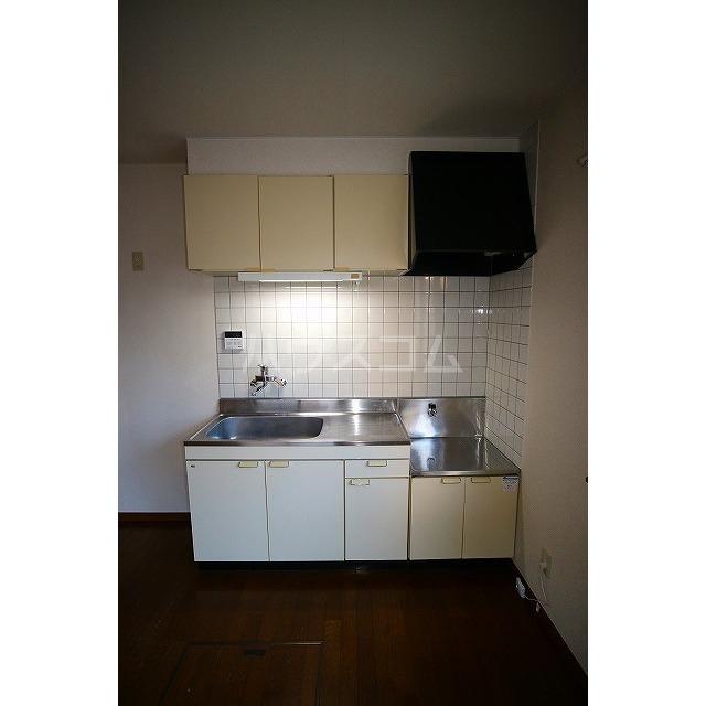 ラミュッセKEYのキッチン