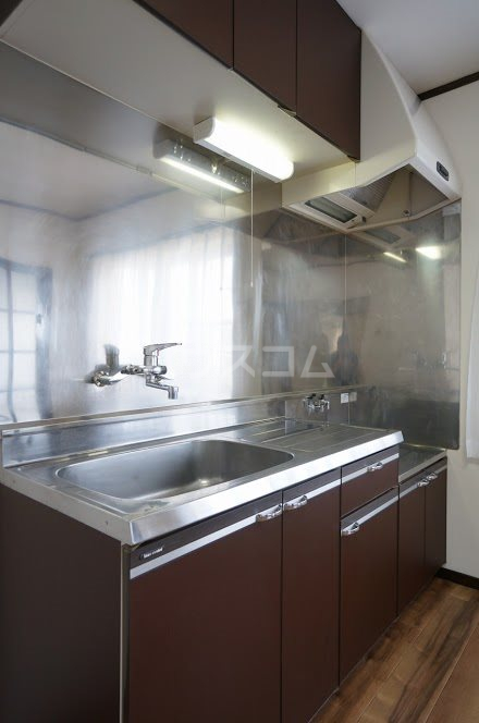 グランパレⅤ 202号室のキッチン