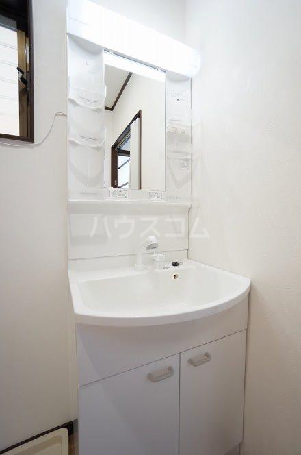 グランパレⅤ 202号室の洗面所