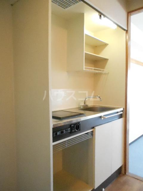 スチューデントハイツ伝馬 602号室のキッチン