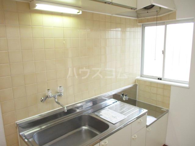 グリーンハイツ 2-202号室のキッチン