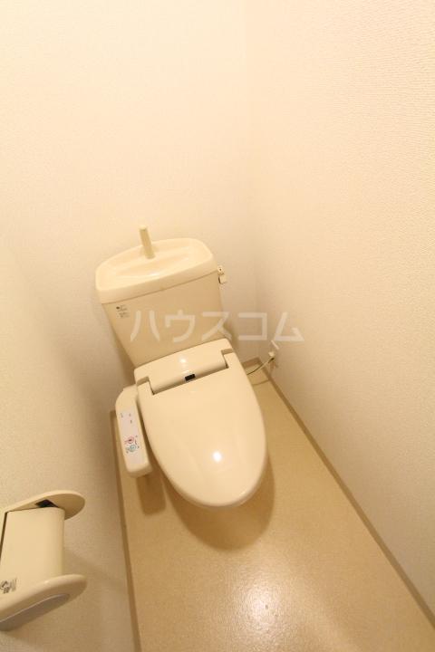 すまいるKATO 103号室のトイレ