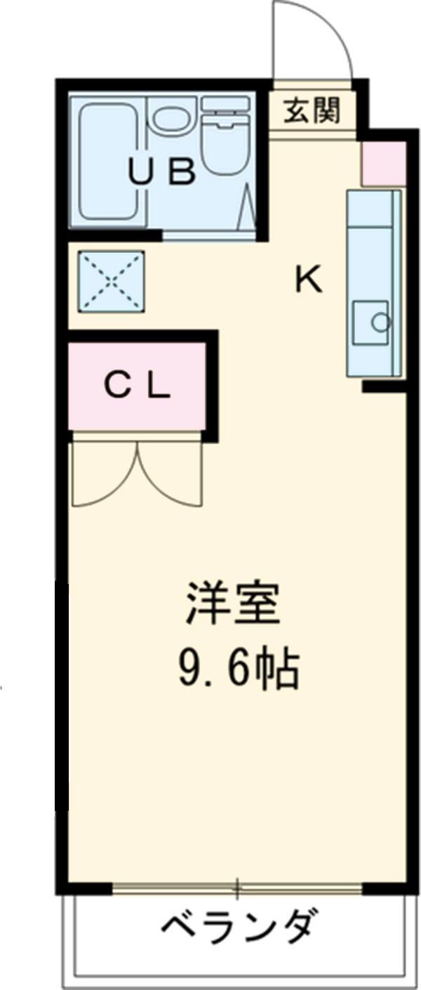 アップル第1マンション 203号室の間取り
