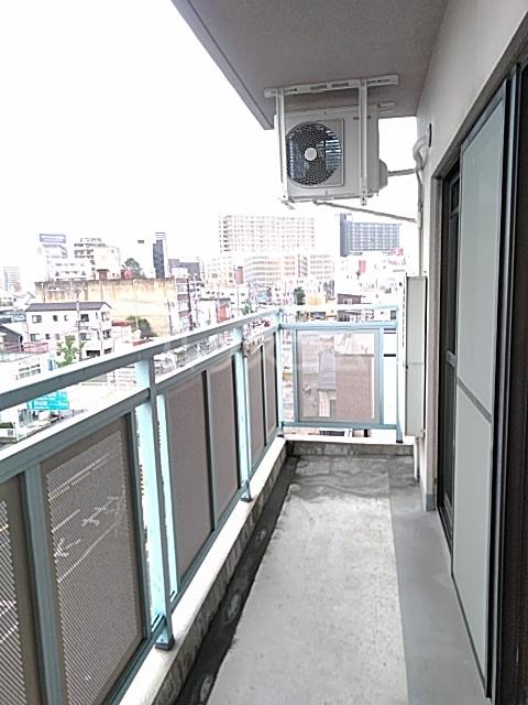 ソルトシティ浜松 501号室のバルコニー