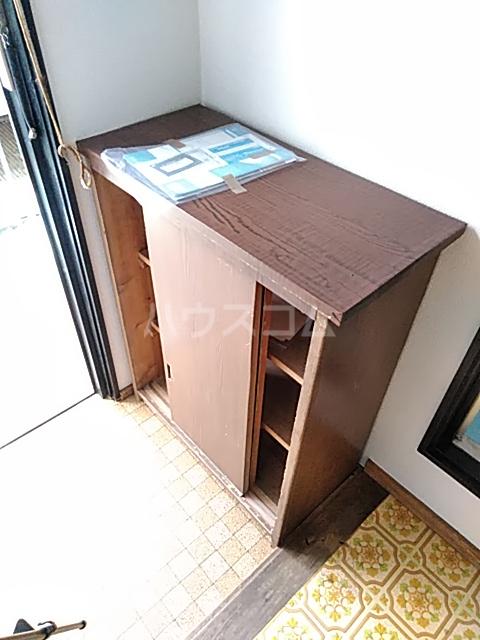 第1中谷コーポ 205号室の収納