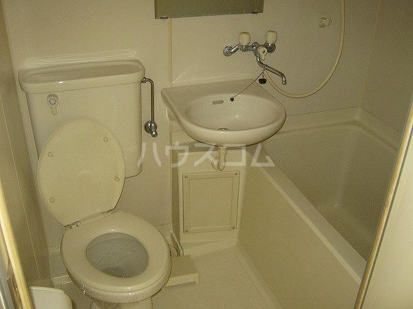 ラ・プリエール 202号室のトイレ