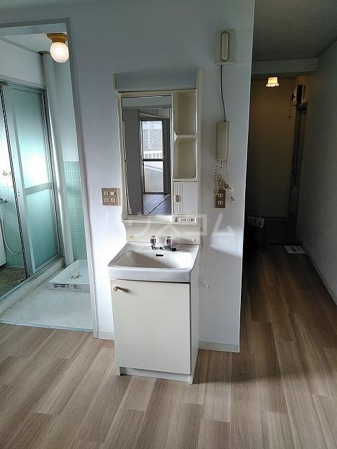 富善ビル 305号室の洗面所
