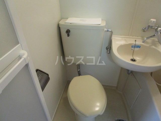 エクセルF.I 303号室の洗面所