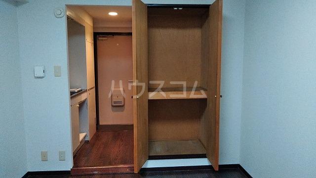 ドール大堀 215号室の収納