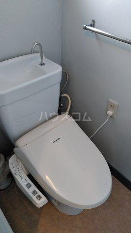 第1パークサイドマンション 205号室のトイレ