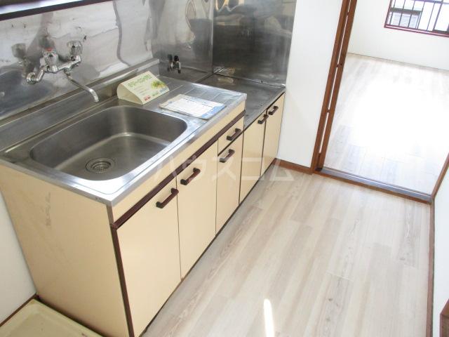 松ヶ丘ハイツ 201号室のキッチン