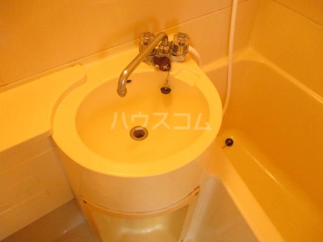 松ヶ丘ハイツ 201号室の洗面所