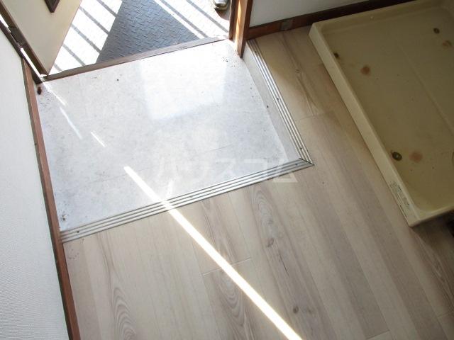 松ヶ丘ハイツ 201号室の玄関
