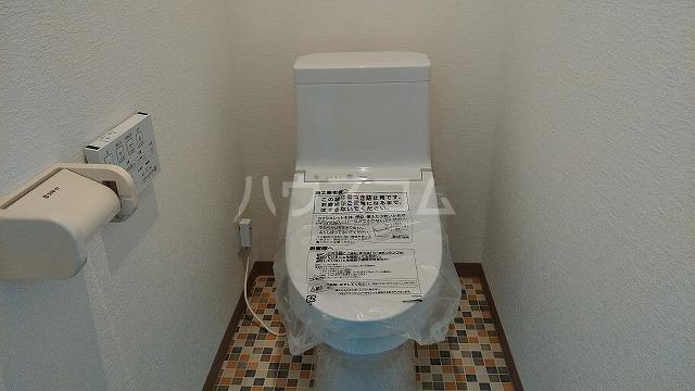 ハニリリカⅢ 804号室のトイレ