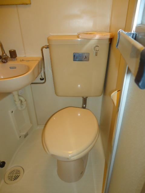 アーバンハイツNY 302号室のトイレ