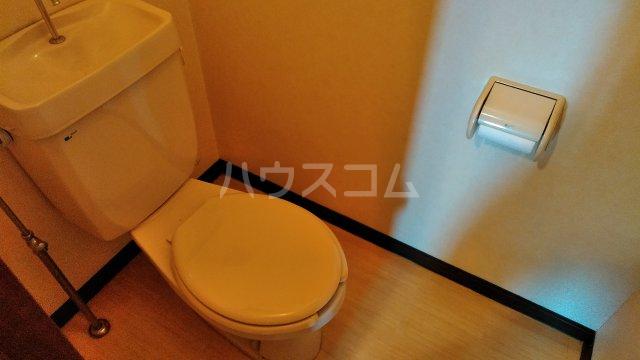 シャインハイツ入場 302号室のトイレ