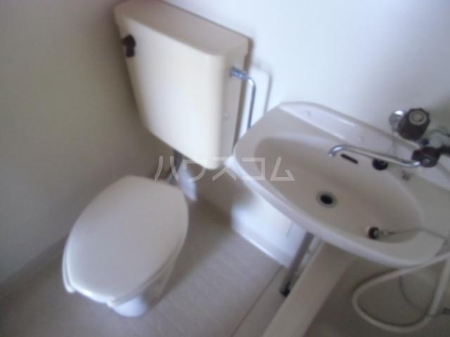 第2マンション久米 203号室のトイレ