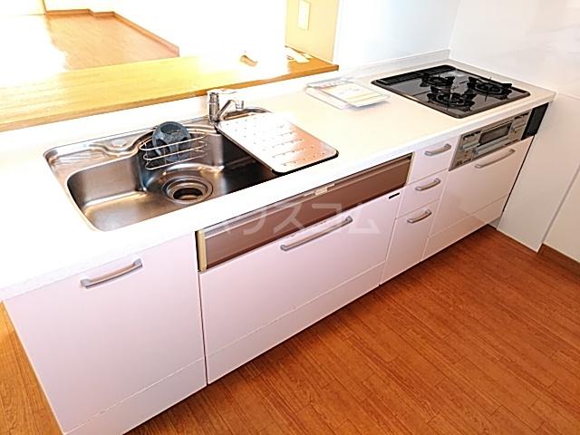 カトレア 303号室のキッチン