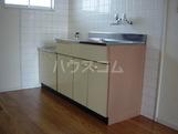 エクセルエバーハイツ 00203号室のキッチン