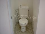 エクセルエバーハイツ 00203号室のトイレ
