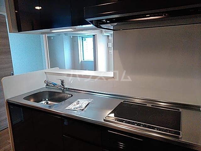 IS 1001号室のキッチン