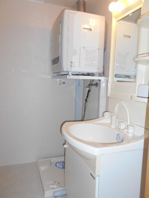 リナシメントA棟 203号室の洗面所