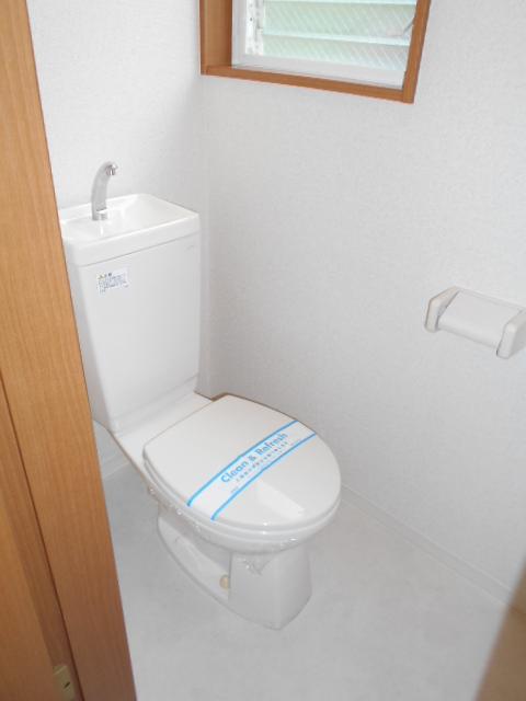 リナシメントA棟 203号室のトイレ