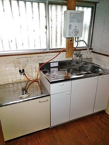 大清水2丁目借家 1号室のキッチン