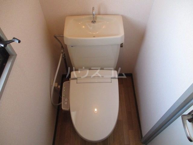 プリムローズ 203号室のトイレ