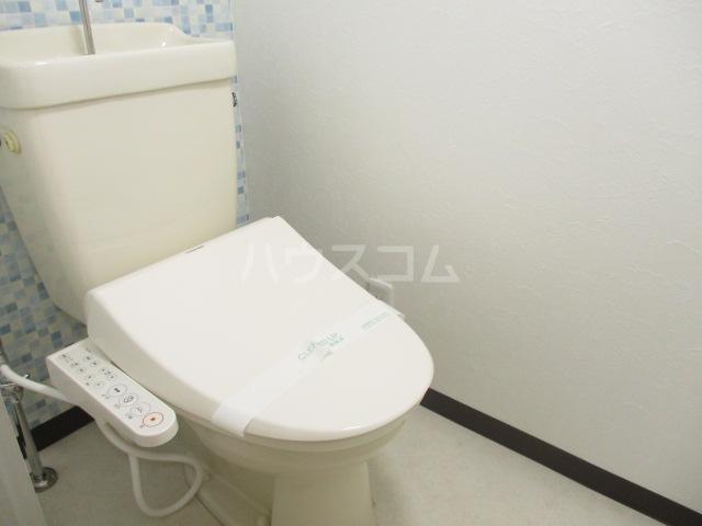 ガーデンヒル千葉寺 101号室のトイレ