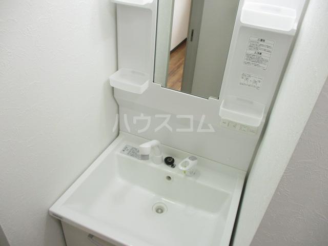 ガーデンヒル千葉寺 101号室の洗面所