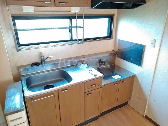 プリシェール 101号室のキッチン