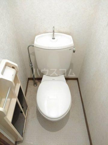 プリシェール 101号室のトイレ