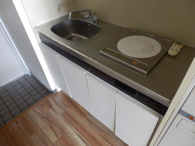 ヒルズ高坂 406号室のキッチン