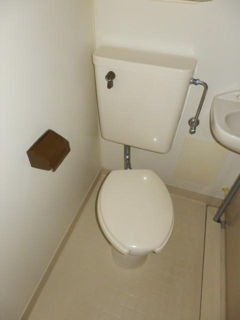 ヒルズ高坂 406号室のトイレ