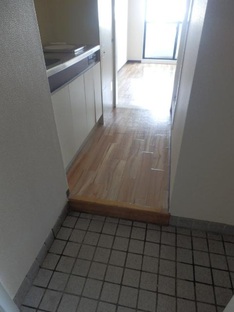 ヒルズ高坂 406号室の玄関