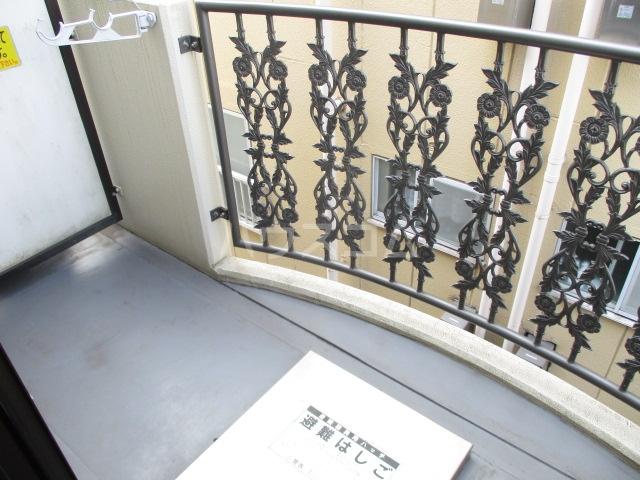 サワークレスト 303号室のバルコニー