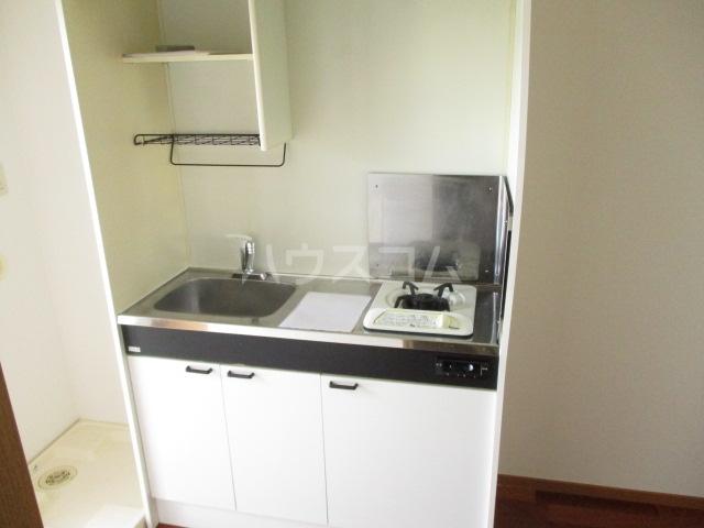 サワークレスト 303号室のキッチン
