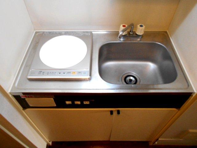 アクトピア八事Ⅰ 202号室のキッチン