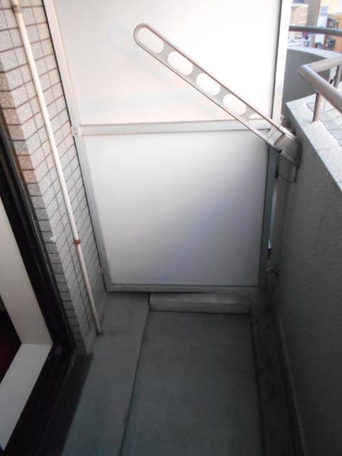 アクトピア八事Ⅰ 202号室のバルコニー