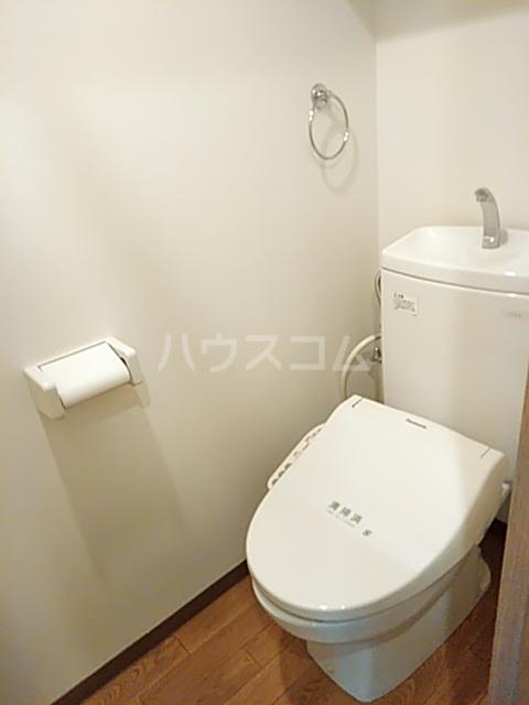 カールド・カーサMT 307号室のトイレ