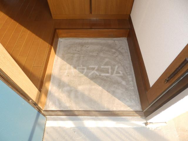 サンコーポヤマブン 101号室の玄関