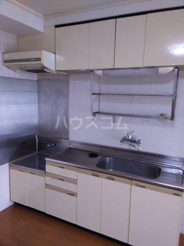 シャトーレ滝ノ水 3C号室のキッチン