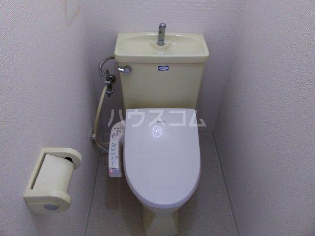 シャトーレ滝ノ水 3C号室のトイレ
