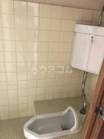 ハウス五月 202号室のトイレ