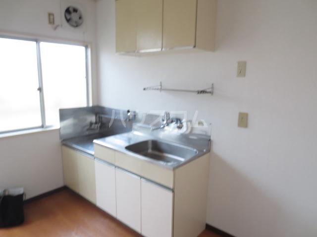 ハイムレジデンス奥沢 203号室のキッチン