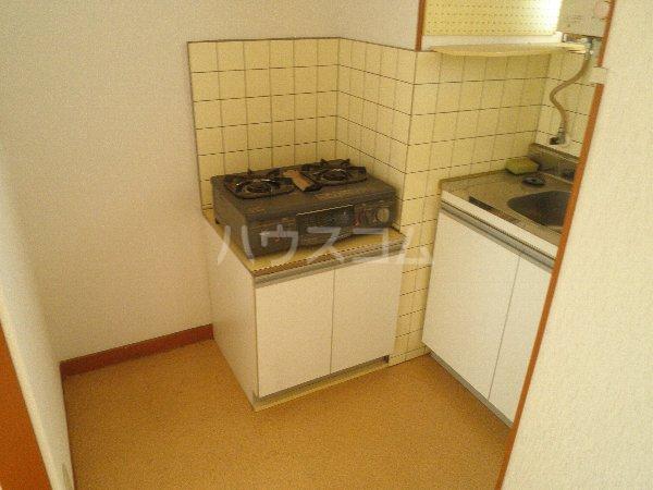 フォーブル玉堤 204号室のキッチン