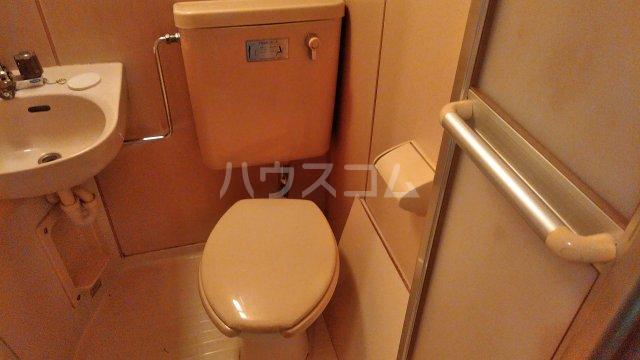 グリーンルーフ妙音 203号室のトイレ